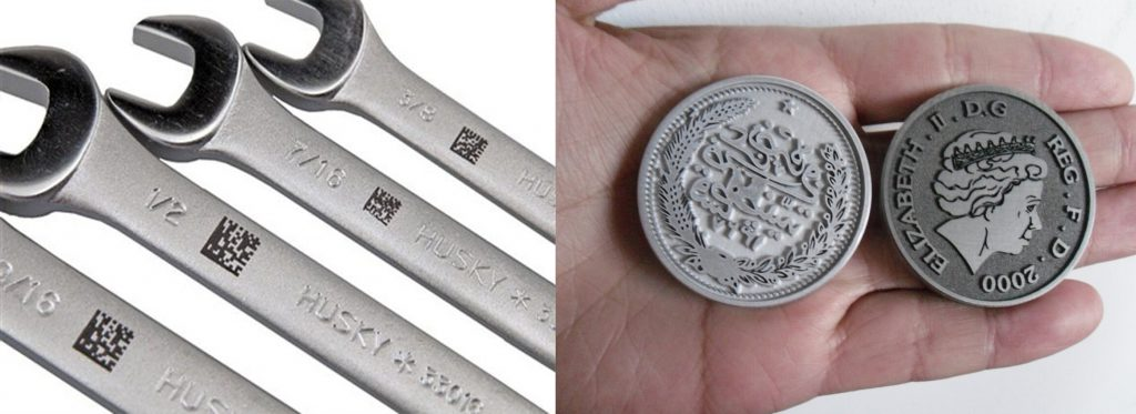 laser engraving metal