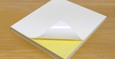 کاغذ پشت چسب دار