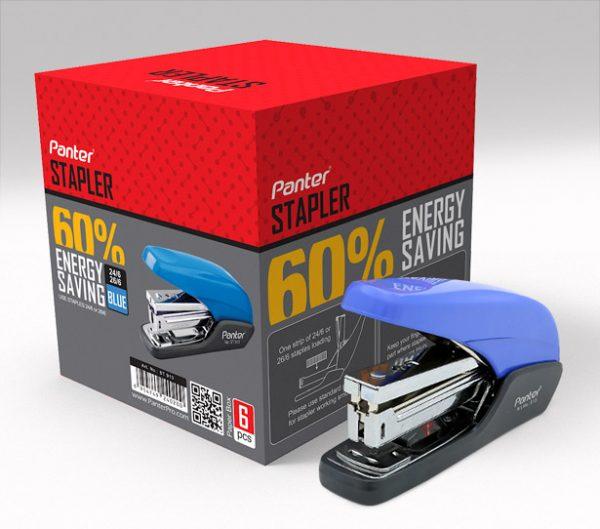 منگنه پنتر مدل Energy Saving سایز بزرگ بسته ۱۲ تایی