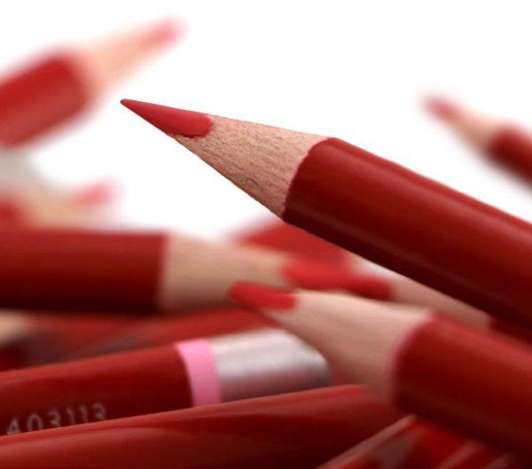 مداد قرمز پنتر مدل Checking بسته ۱۲ تایی