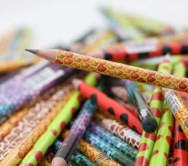 مداد مشکی پنتر سری جنگل بسته ۱۲ تایی