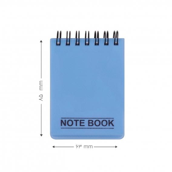 دفتر یادداشت کج راه ۱۰۰ برگ پاپکو