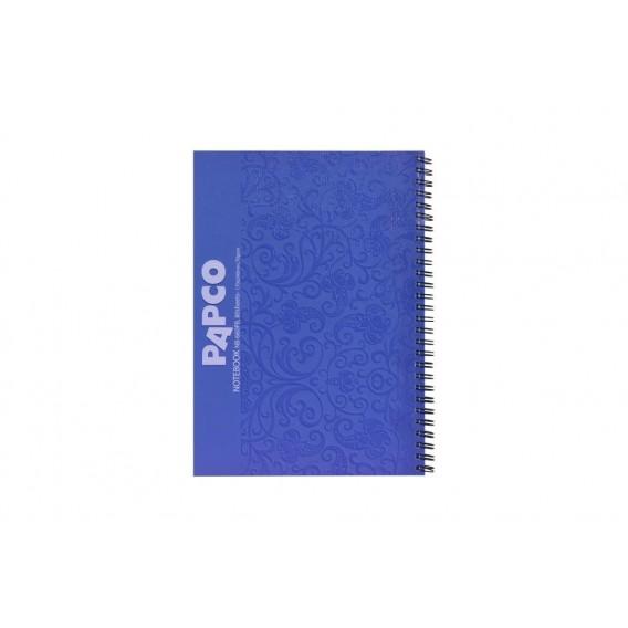 دفتر ۸۰ برگ طرح دار جلد مقوایی پاپکو