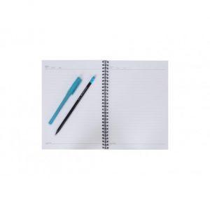 دفتر 80 برگ طرح دار جلد مقوایی پاپکو