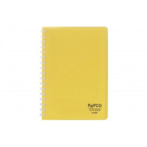 دفتر یادداشت شفاف ۶۰ برگ پاپکو
