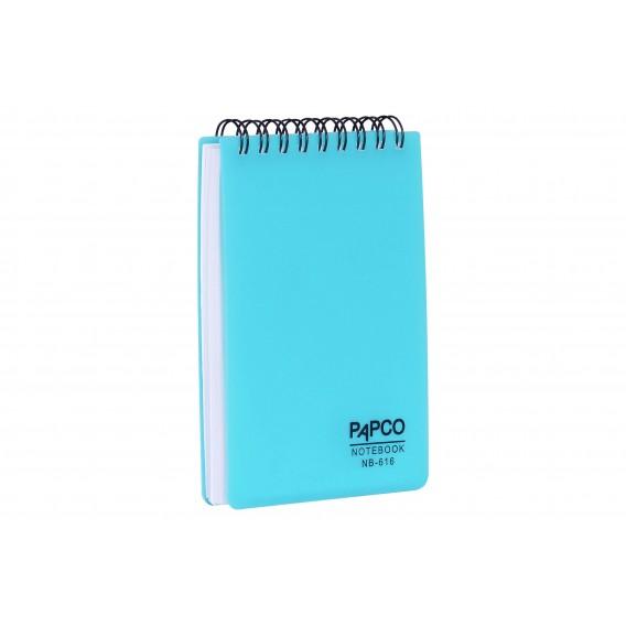 دفتر یادداشت سیم از بالا ۱۰۰ برگ مات پاپکو