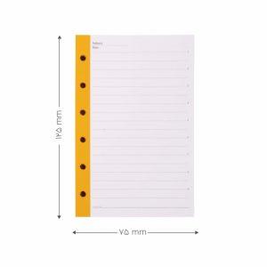 اوراق دفتر یادداشت قفل فلزی پاپکو