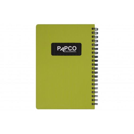 دفتر یادداشت بدون خط متالیک ۱۰۰ برگ پاپکو