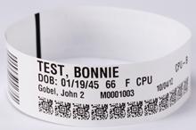 دستبند شناسایی بیمار بزرگسال 175 عددی (اولترا سافت)