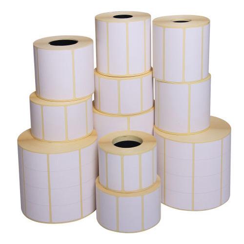 رول لیبل پشت چسب دار کاغذی سایز ۱۰*۳۰ سانتی