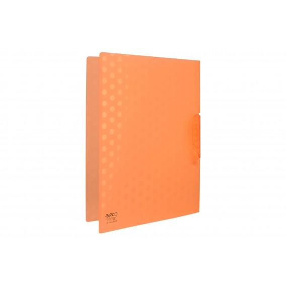 کلیپ فایل ژله ای سایز A4 پاپکو ۲۴ تایی