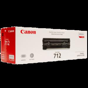 کارتریج تونر Canon مدل 712 طرح درجه یک