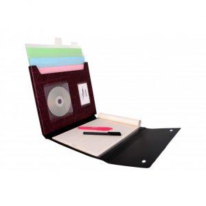 پوشه سمینار فایل دکمه دار سایز FC پاپکو
