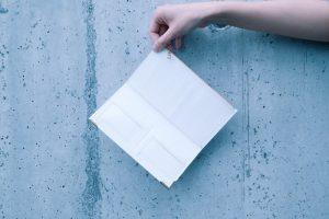 فابریک کاغذ کرافت قابل شست و شو